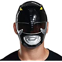 Máscara para hombre disfrazada de guardabosques negro, talla única