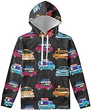 Renewold Kids Hoodies Youth Girls Boys Sweatshirt Hooded Athletic Tops Clothing
