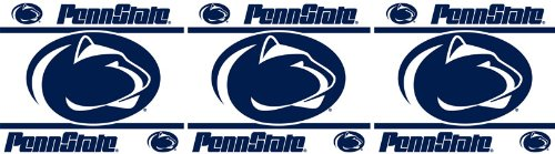 Penn State Nittany Lions NCAA Decor Wall Border 8 PACK (5 In by 15 Ft Per Pack = 120 Feet Total!) - Great for Playrooms, Basements or Mega-Sized Fancaves! - SAVE BIG ON BUNDLING! by Sports Coverage