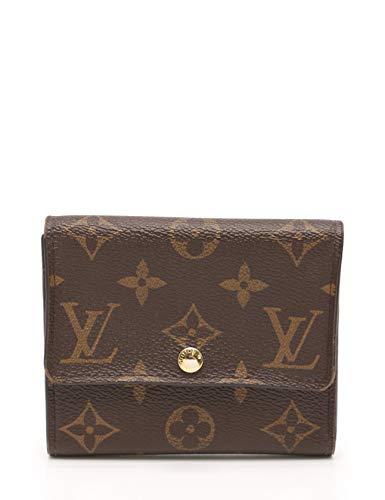 (ルイヴィトン) LOUIS VUITTON ポルトフォイユ アナイス モノグラム 三つ折り財布 PVC 茶 M60402 中古   B07MT8M482