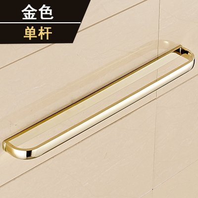 Yomiokla Bathroom Accessories - Kitchen, Toilet, Balcony and Bathroom Metal Towel Ring American minimalist style gold plated classical antique racks mounted in gold (USA) Single Lever by Yomiokla
