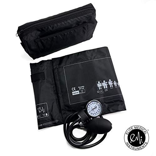 Thigh Blood Pressure - EMI THIGH sized Manual Blood Pressure Monitor Set FDA Approved Cuff Size (16 to 25 inch)