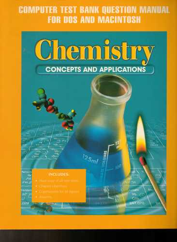 Download Glencoe Chemistry Computer Test Bank Question Manual For Dos and Macintosh. (Paperback) PDF