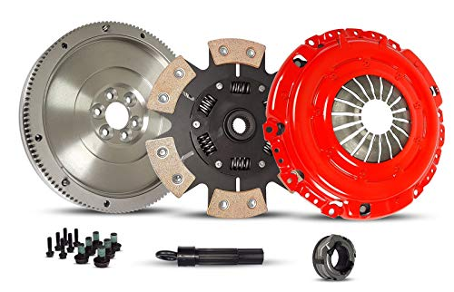 Diesel Performance Clutches - Stage 3 Clutch With Flywheel Kit Works With Audi Tt Vw Golf Jetta Base Classic Base Gls Gti Tdi Gl Soportline 1.8L l4 1.9L l4 DIESEL 1.8L l4 SOHC Turbocharged