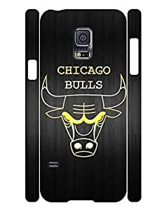 Artistical Series Cell Phone Case Hipster Sign Basketball Team Design Solid Case Cover for Samsung Galaxy S5 Mini SM-G800 (XBQ-0277T)
