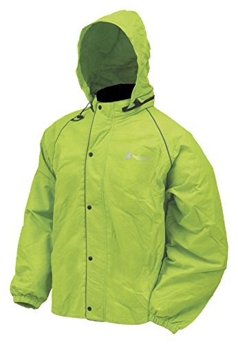 Frogg Toggs Road Toad Rain Jacket Lime Green (Green, XX-Large)