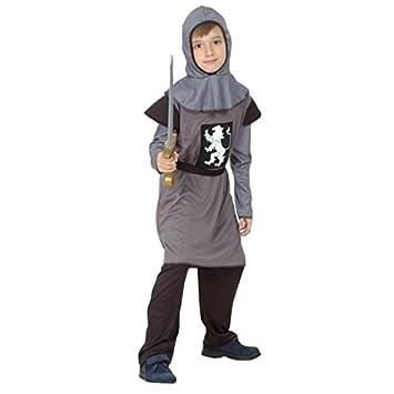 Disfraz de caballero medieval para niño: Amazon.es: Juguetes y juegos