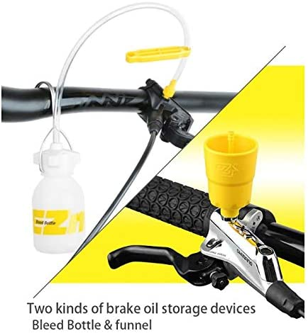 EZmtb Kit de Sangrado Mineral para Frenos de Disco hidr/áulicos para Bicicleta para Shimano Magura Tektro