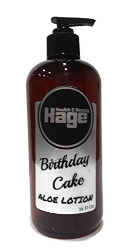 Amazon Hage Health Birthday Cake Aloe Lotion 16 Oz Beauty