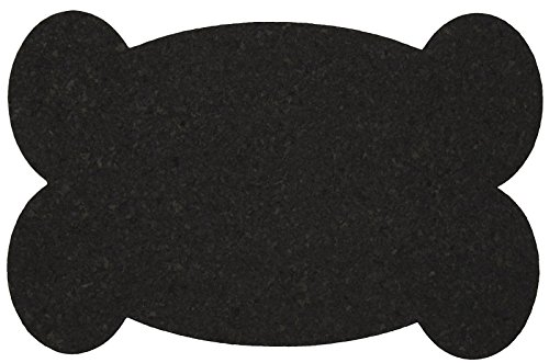 ORE Pet Recycled Rubber Pet Placemat Big Bone - (Recycled Rubber Bone)