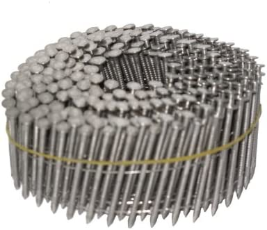 """3,600 pcs NailPRO 1-1//4/"""" x .093 Stainless Steel Coil Ring Shank Siding Nails"""