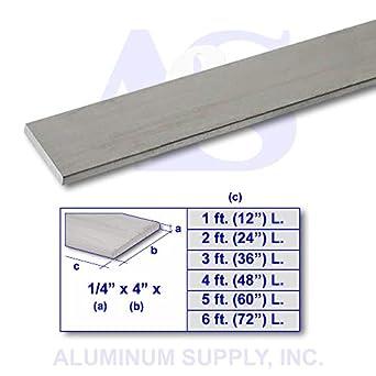 """3//8/"""" Aluminum 6061 Square Bar x 24/"""""""