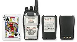 Klein Electronics BANTAM-VM-1 Blackbox Bantam VHF 2-Way Radio with Motorola Connector Jack; Compact, Rugged, Full Power Radio; 16 Channel; 5 watts/2 watts RF power; Scanning; Voice Channel Enunciation