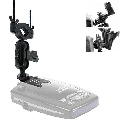 (AccessoryBasics Car Rearview Mirror Radar Detector Mount for Escort Passport 9500ix 9500i Passport 8500 7500 X50 x70 x80 Solo S2 S3 S4 SC 55 s75 s75g Beltronics RX65 Red Vector 995 955 Radar)