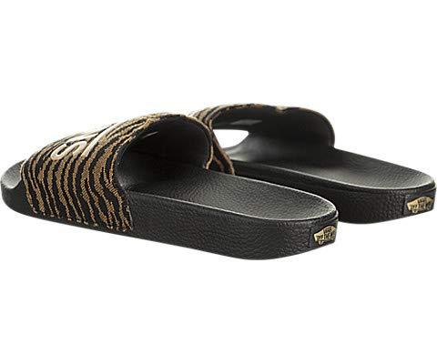 49af109dd33 Amazon.com  Vans Slide-On (Woven Tiger) Black  Shoes