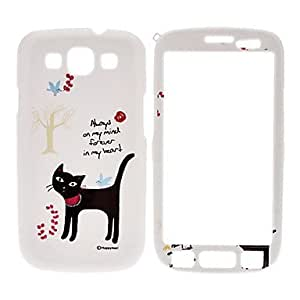 Cat Pattern Front and Back Full Body Case for Samsung Galaxy S3 I9300