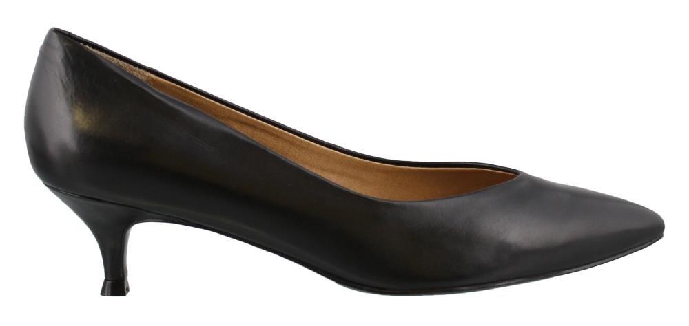 Vionic Women's Josie Kitten Heel (7 B(M) US, Black)