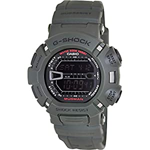41eaarXPo4L. SS300  - Casio Men's G9000-3V G-Shock Green Mudman Digital Sports Watch, Black