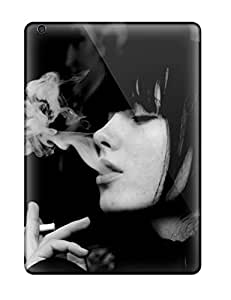 Hot Fashion XKdprOs13923GVFiW Design Case Cover For Ipad Air Protective Case (girl Smoking)