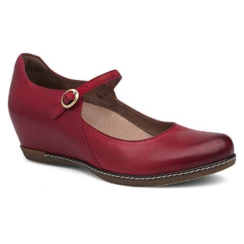 Dansko Women's Loralie Red Wedge 9.5-10 M US (Women For Dansko Shoes)