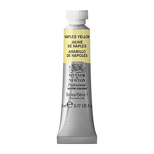 Winsor & Newton Professional Water Colour Paint, 5ml tube, Naples Yellow