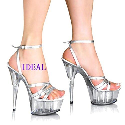 15 zentimeter crystal schuhe high heels high heels transparenten abend laden