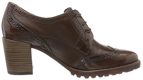 Tamaris Scarpe Marrone 23302 Donna Stringate Maroon Oxford 6r6Oq
