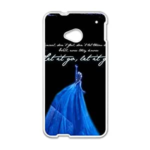 Frozen Fashion Comstom Plastic case cover For HTC One M7