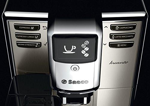 Saeco HD8917/47 Incanto Carafe Super Automatic Espresso Machine, Stainless Steel