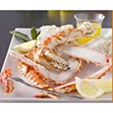 Trident Seafoods Brown King Crab Split Claws and Arms, 10 Pound -- 1 each.