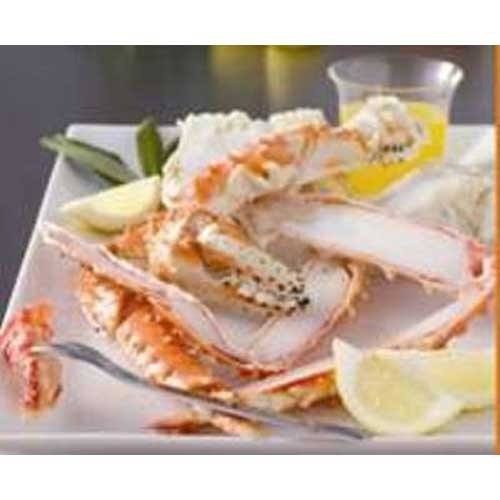 Trident Seafoods Brown King Crab Split Claws and Arms, 10 Pound -- 1 each. by Trident