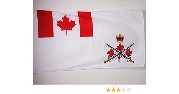AZ FLAG Bandera de Canada EJÉRCITO Canadiense 150x90cm para Palo - Bandera Fuerzas COMBINADAS CANADIENSES 90 x 150 cm: Amazon.es: Jardín