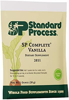 Standard Process – SP Complete Vanilla – 10 Pouch Pack