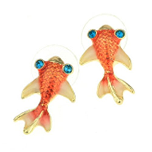 ulaky-red-small-goldfish-earrings-red-carp-painted-diamond-inlay-color-earrings-palace-retro-jewelry