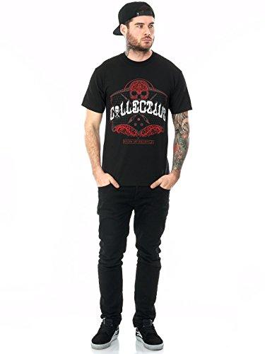 T-Shirt Sullen Collective Script Nero