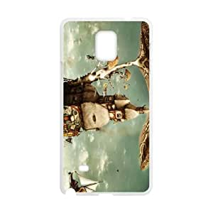 Samsung Galaxy Note 4 Cell Phone Case Covers White digital Art T4503485