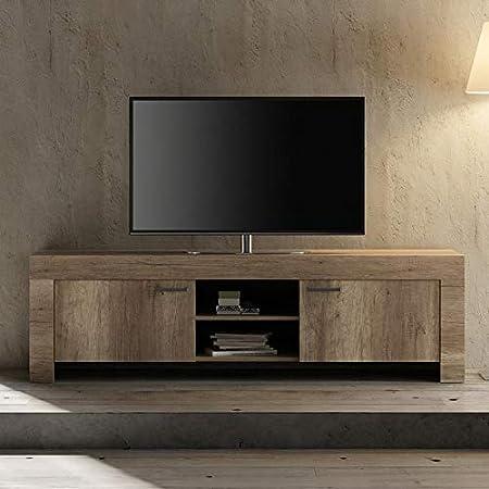 Kasalinea - Mueble para televisor contemporáneo, Color Roble Romano: Amazon.es: Hogar