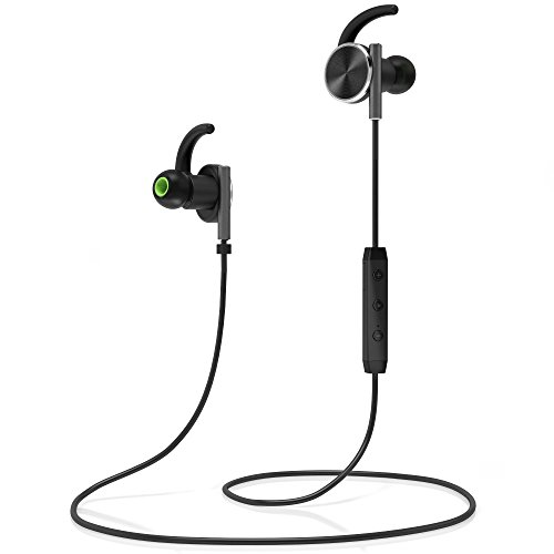 symphonized lux bluetooth wireless in ear noise isolating headphones magnetic earbuds. Black Bedroom Furniture Sets. Home Design Ideas