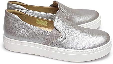 スリッポン 靴 レディース N564 厚底スニーカー カーリー3 レザー