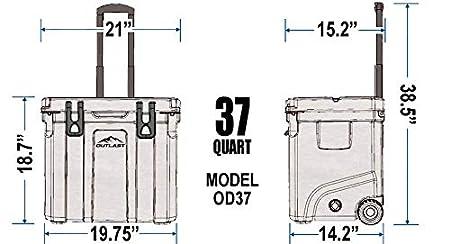 Outlast OD37 refrigerador Resistente para Hielo: Amazon.es: Jardín