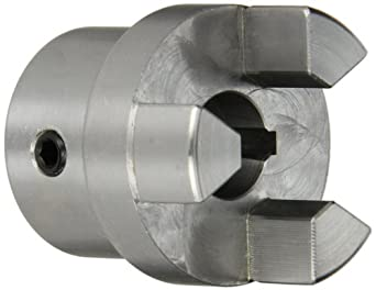 Boston Gear FC159/16 Shaft Coupling Half, FC15 Coupling Size, 0.563 inches Bore, 1-1/32 Thru Bore Length, 1.250 inches Hub Diameter, 6 Max HP at 1750 RPM, 250 Max Torque (LB-IN), Steel