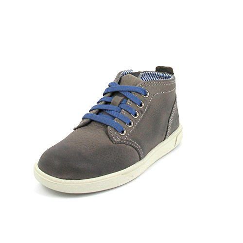 TIMBERLAND 3273A grey 32/34.5 youth's scarpe bambino sneakers mid zip