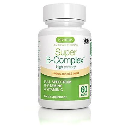 6 x Super B-Complex - complejo de vitaminas B metiladas con folato y vitamina