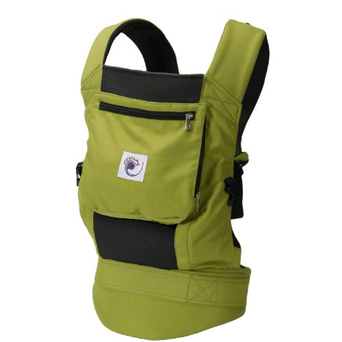 Ergo Baby Performance Carrier Green 2011 Model by Ergobaby Carriers