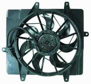 Chrysler Pt Cruiser 01 02 03 04 05 Radiator Cooling Fan 5017407Ab - Auxiliary Fan Turbo