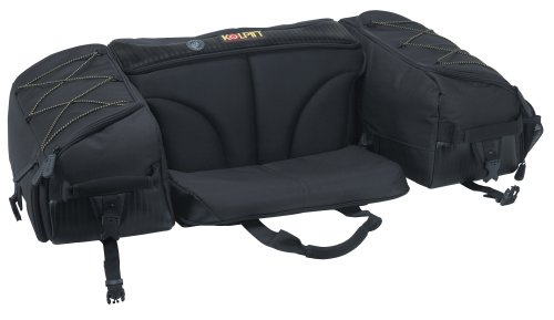 Kolpin Matrix Seat Bag - Black - 91155 (Honda Atv Backrest)