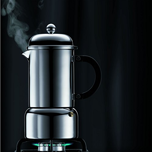 Bodum Chambord 12-Ounce Stainless-Steel Stovetop Espresso Maker by Bodum (Image #3)