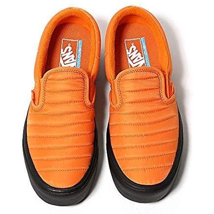 Vans Slip ON LITE Quilted Russet Orange