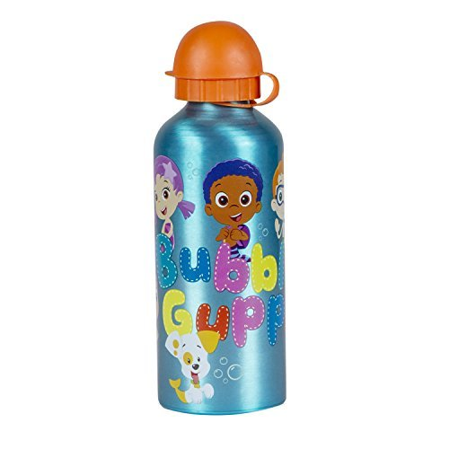 Bubble Guppies Aluminum Bottle Blue (Names Of Monster High Characters)
