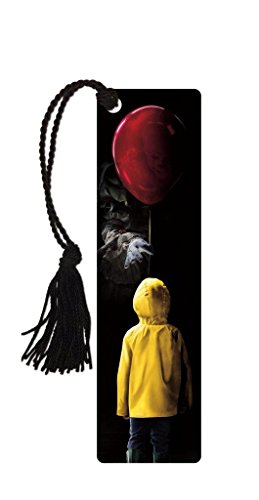 Stephen King - It Movie - Bookmark with Tassle - Pennywise The Clown - You'll Float Too - Horror Film Movie Collectible